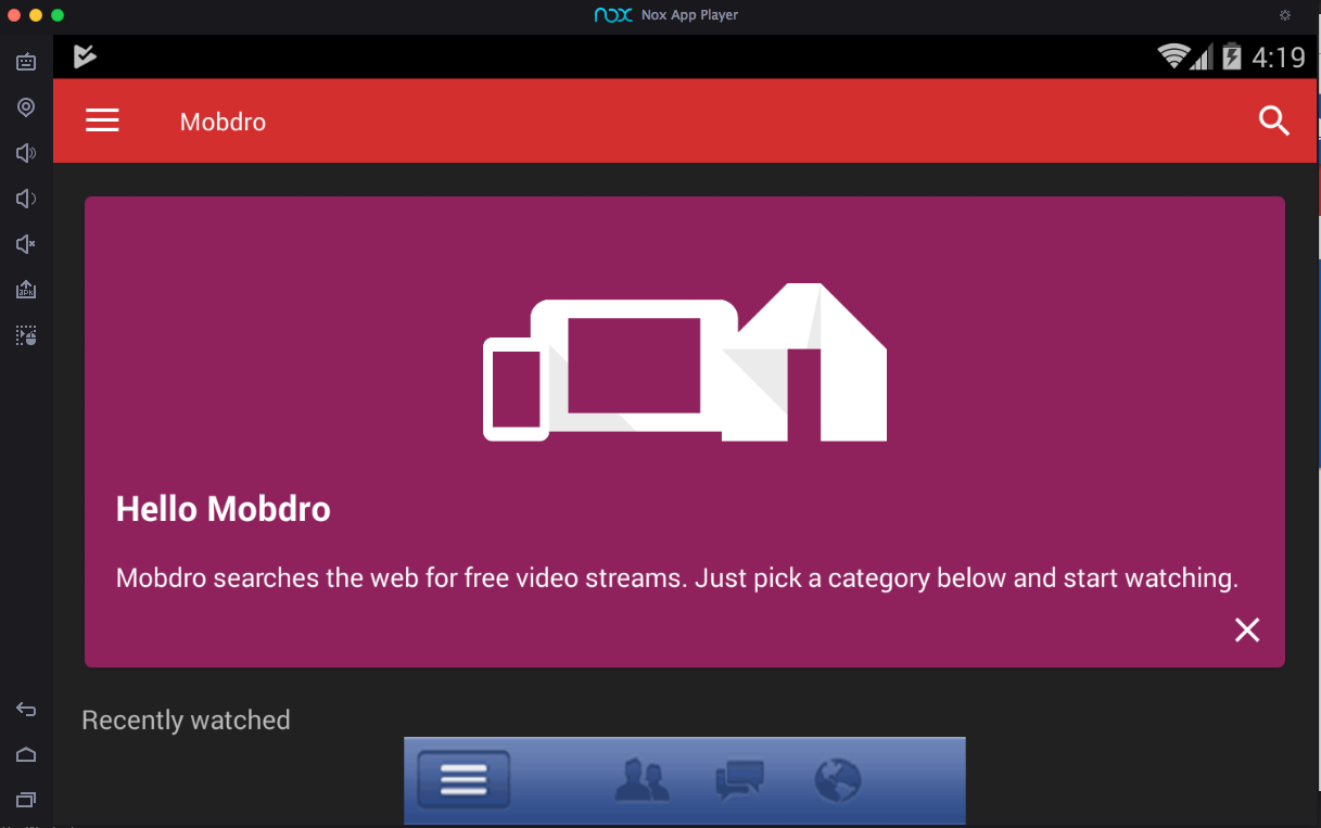 Mobdro PC Screenshot 3